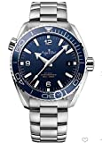 HHBB Marca de lujo hombres automático mecánico azul cuero acero inoxidable zafiro reloj negro cerámica bisel Aaa+